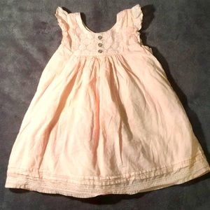 Camilla Pink Long Baby Dress Size 18 Months